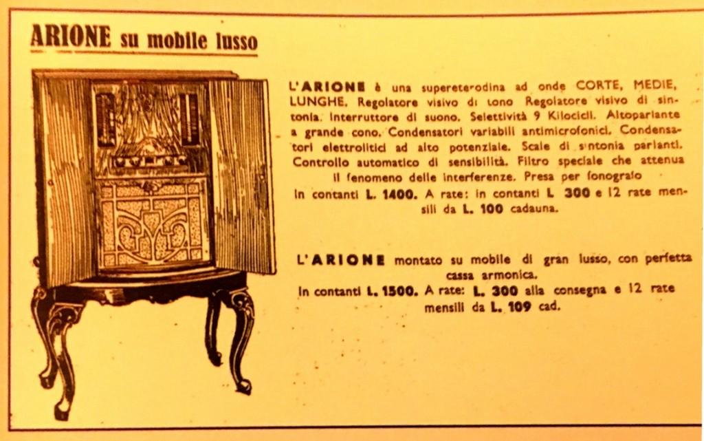 Radio Marelli Arione Lusso 2