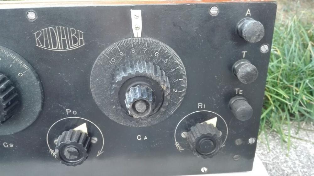 Allocchio Bacchini radioalba 4 valvole 3