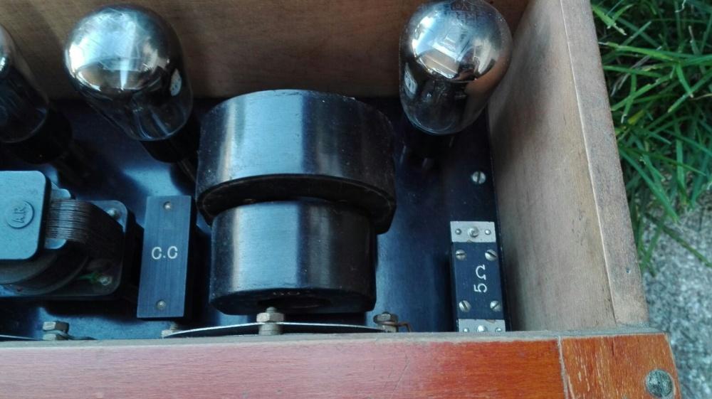 Allocchio Bacchini radioalba 4 valvole 4