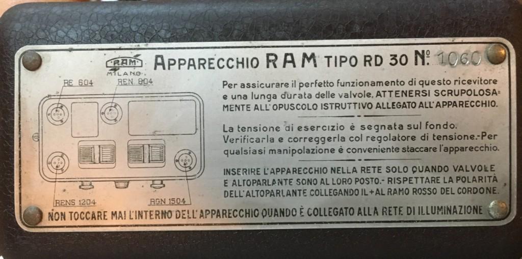 radio ramazzotti rd30 11