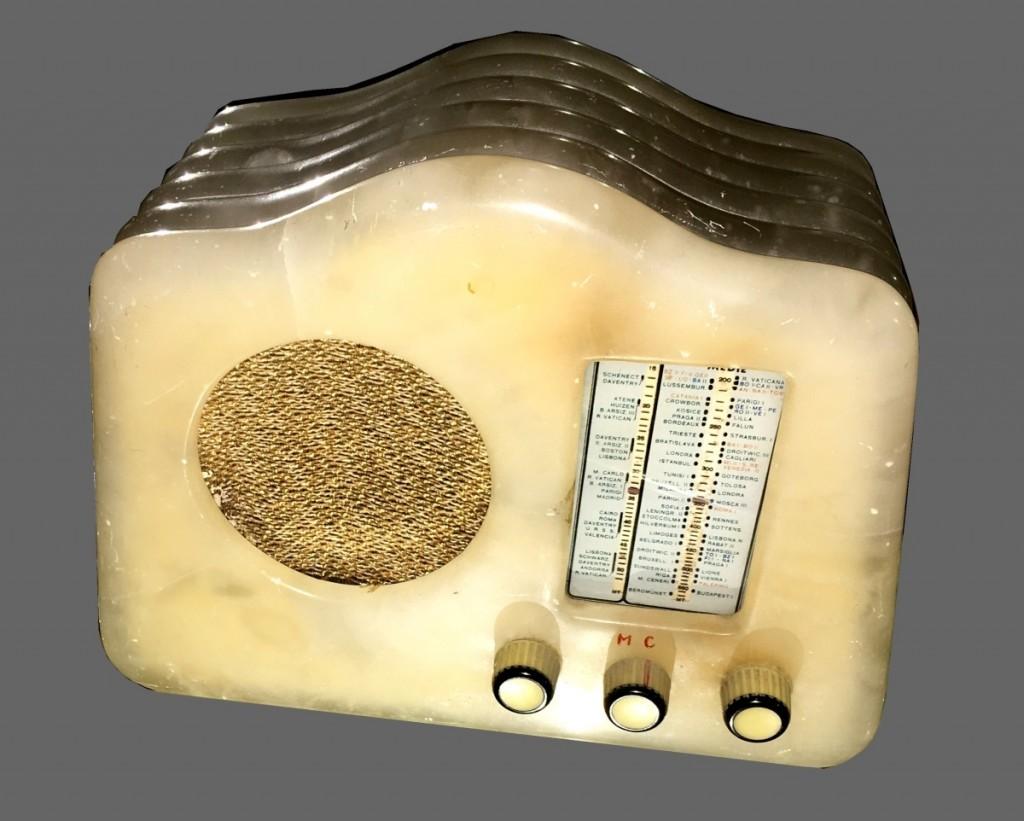 Radio Marcucci Milano M 72 alabastro