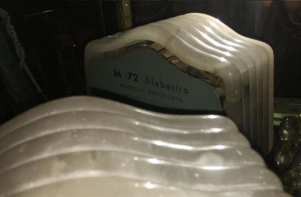 Radio Marcucci M72 alabastro 18
