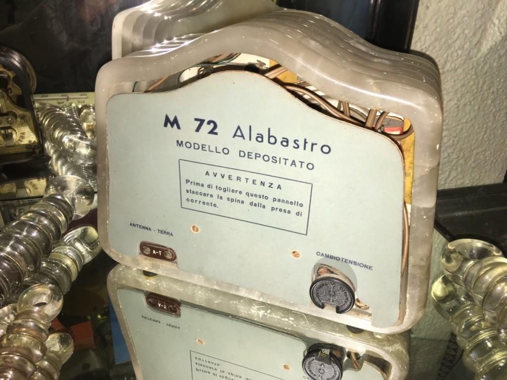 Radio Marcucci M72 alabastro 19