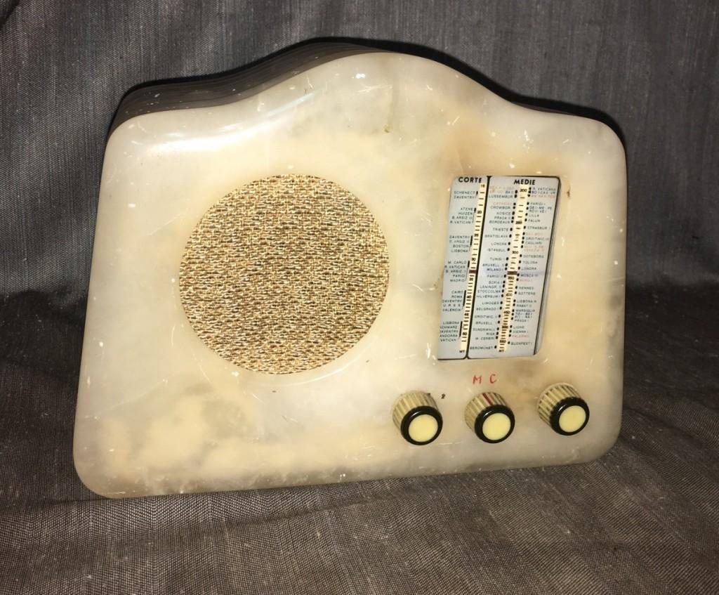 Radio Marcucci M72 alabastro 2