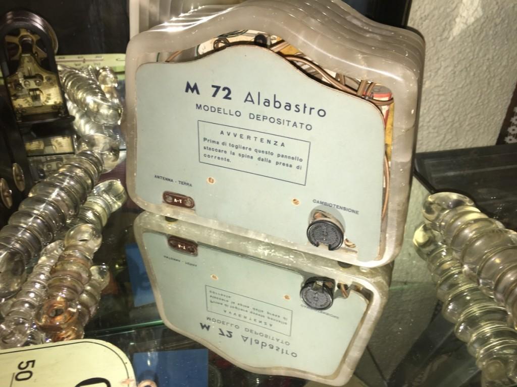 Radio Marcucci M72 alabastro 20