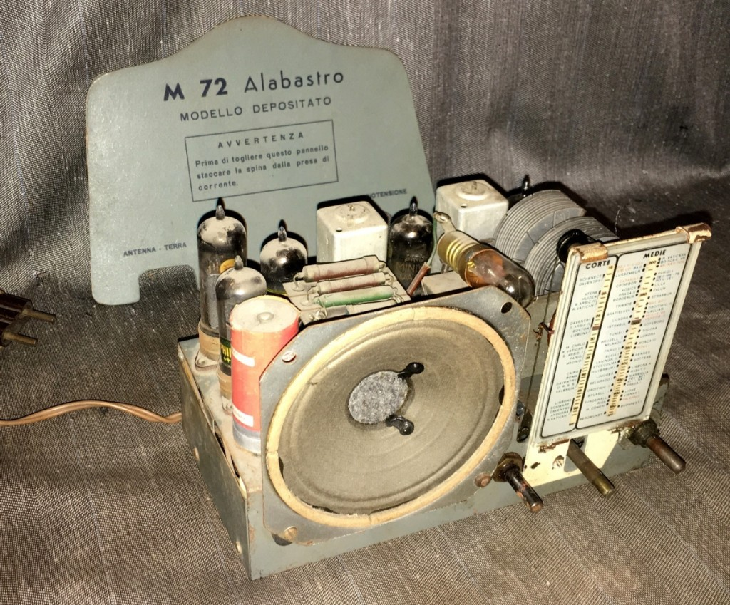 Radio Marcucci M72 alabastro 24