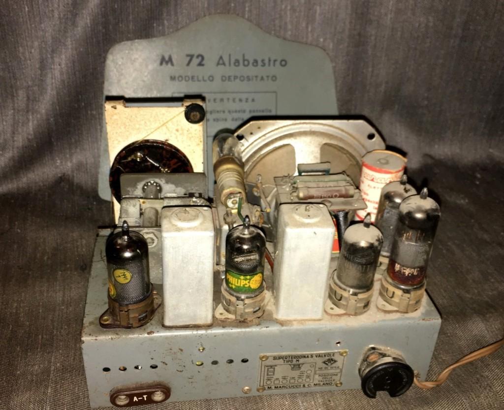 Radio Marcucci M72 alabastro 25