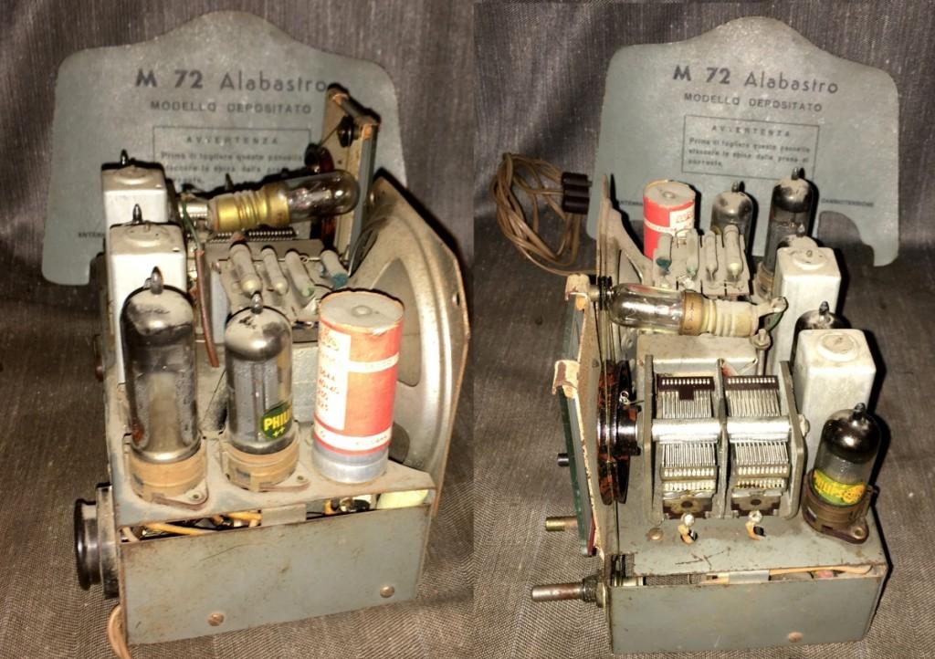 Radio Marcucci M72 alabastro 26