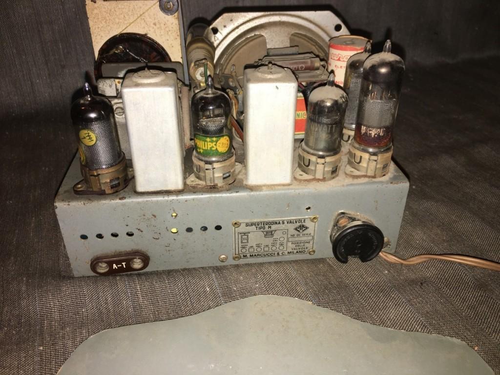 Radio Marcucci M72 alabastro 28