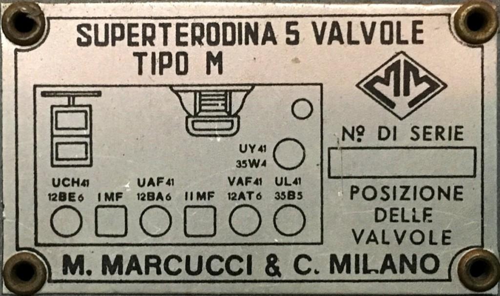 Radio Marcucci M72 alabastro 29