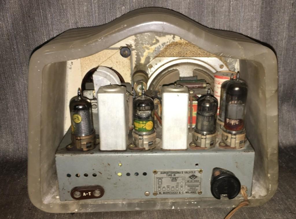Radio Marcucci M72 alabastro 31
