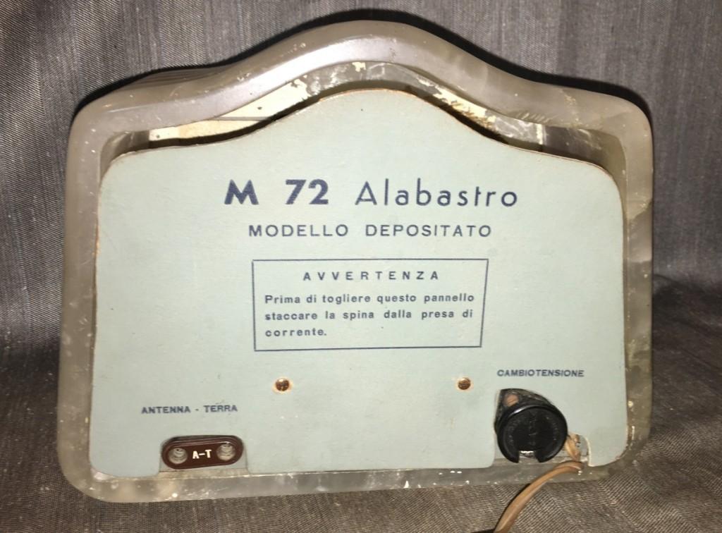 Radio Marcucci M72 alabastro 32