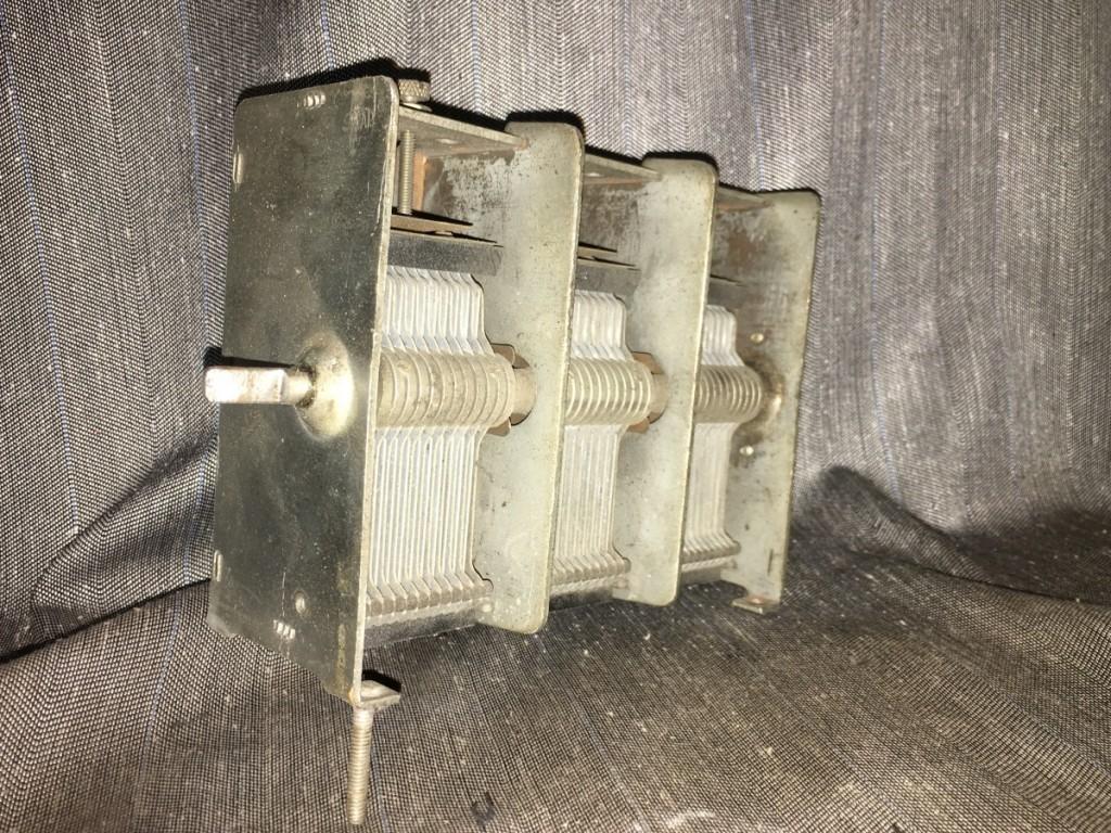 condensatore variabile safar radio 3