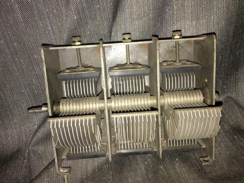 condensatore variabile safar radio 5