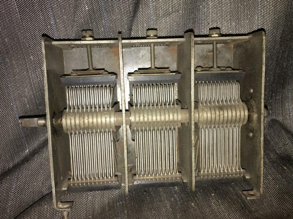 condensatore variabile safar radio 6 melode