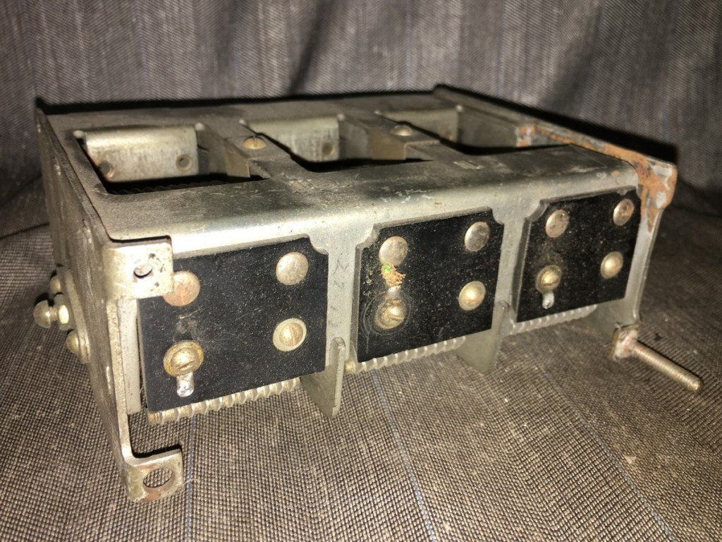 condensatore variabile safar radio 8