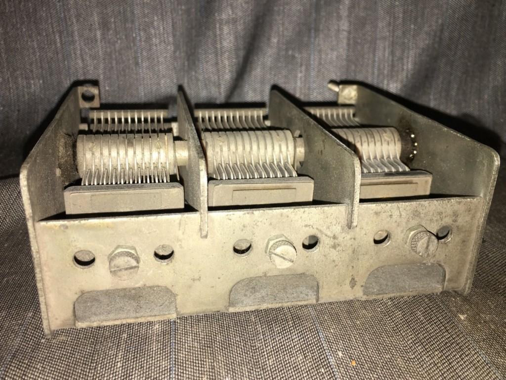 vendo condensatore variabile safar ricambi safar radio milano