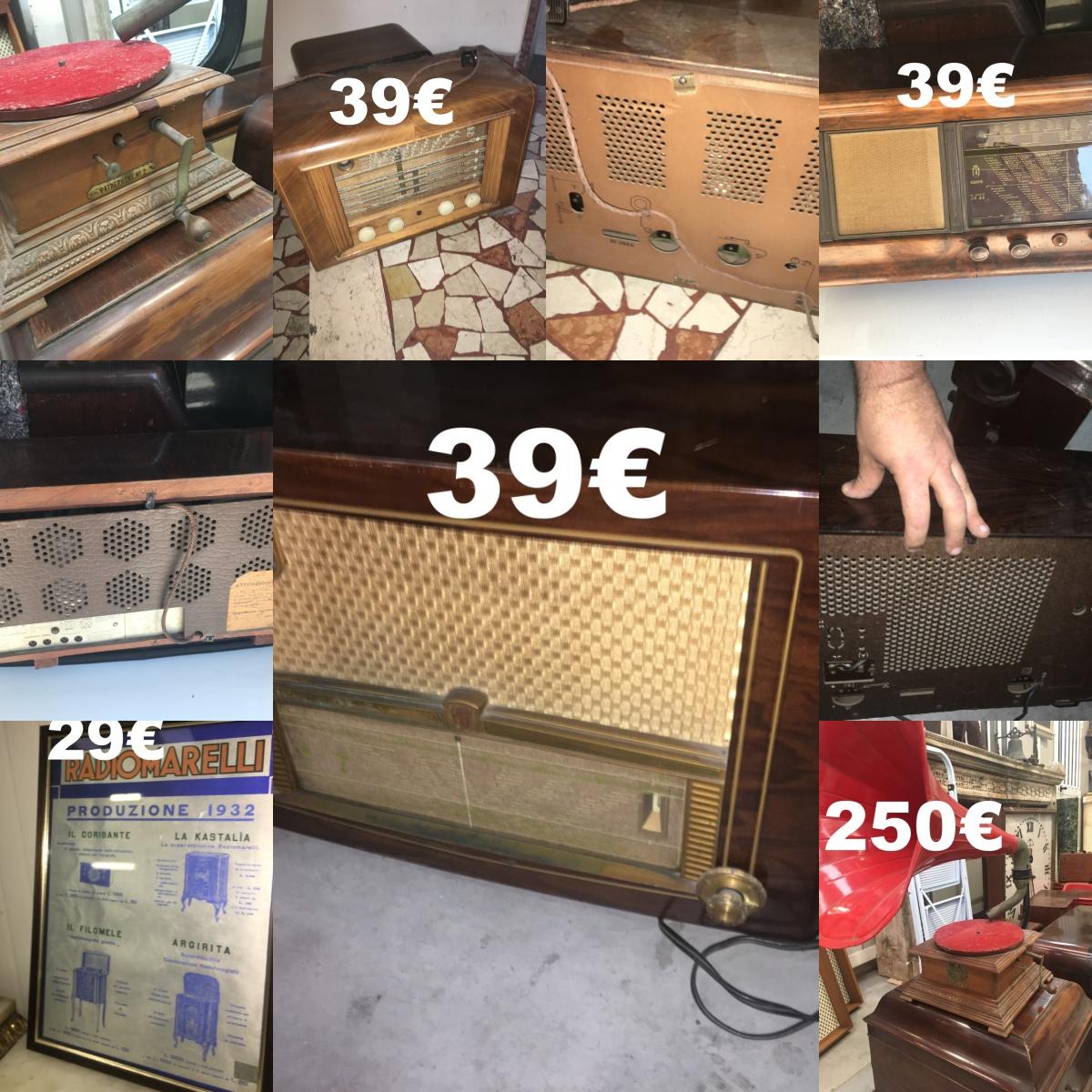 AAA Ultimi ribassi radio e grammofoni prezzi zero. approfittate