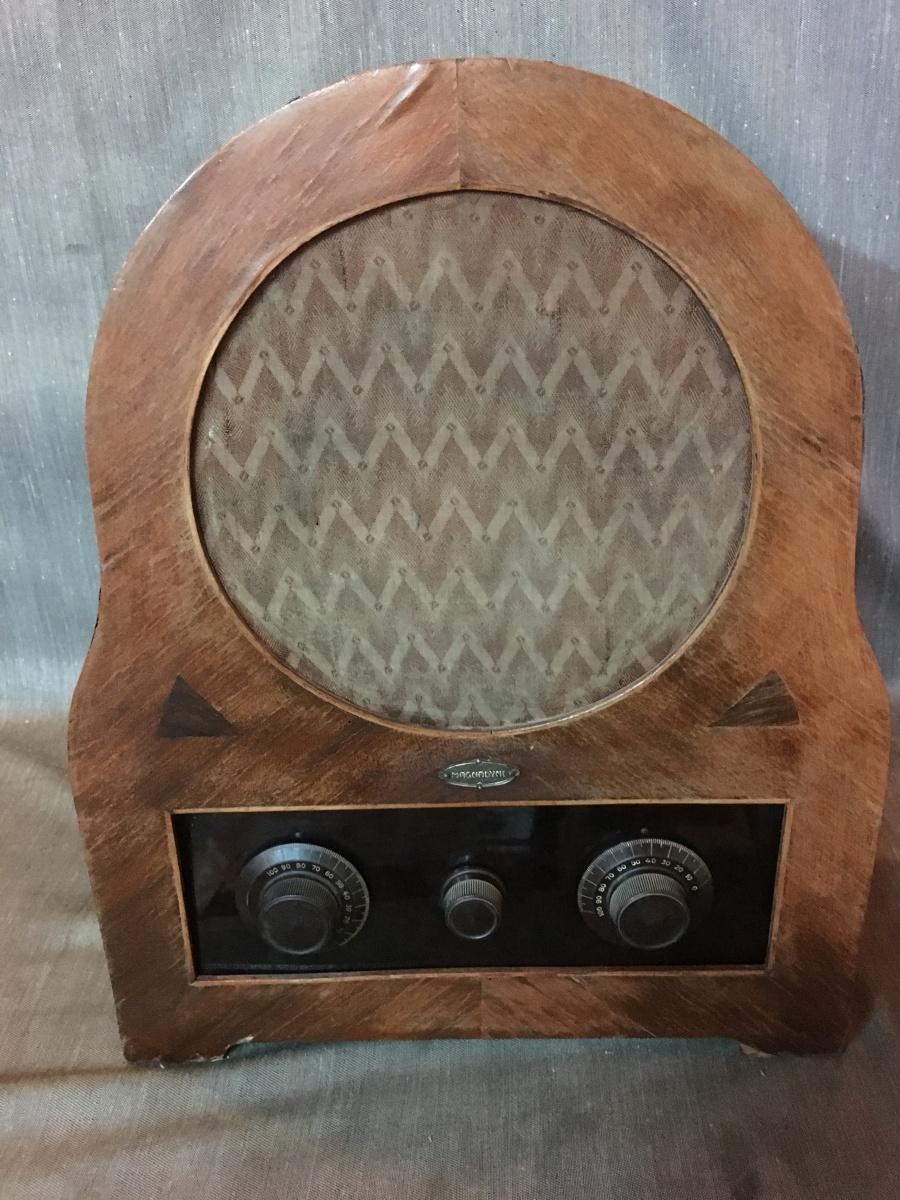 RADIO MAGNADYNE SW 10 CUPOLETTA ANTICHISSIMA telaio 10219