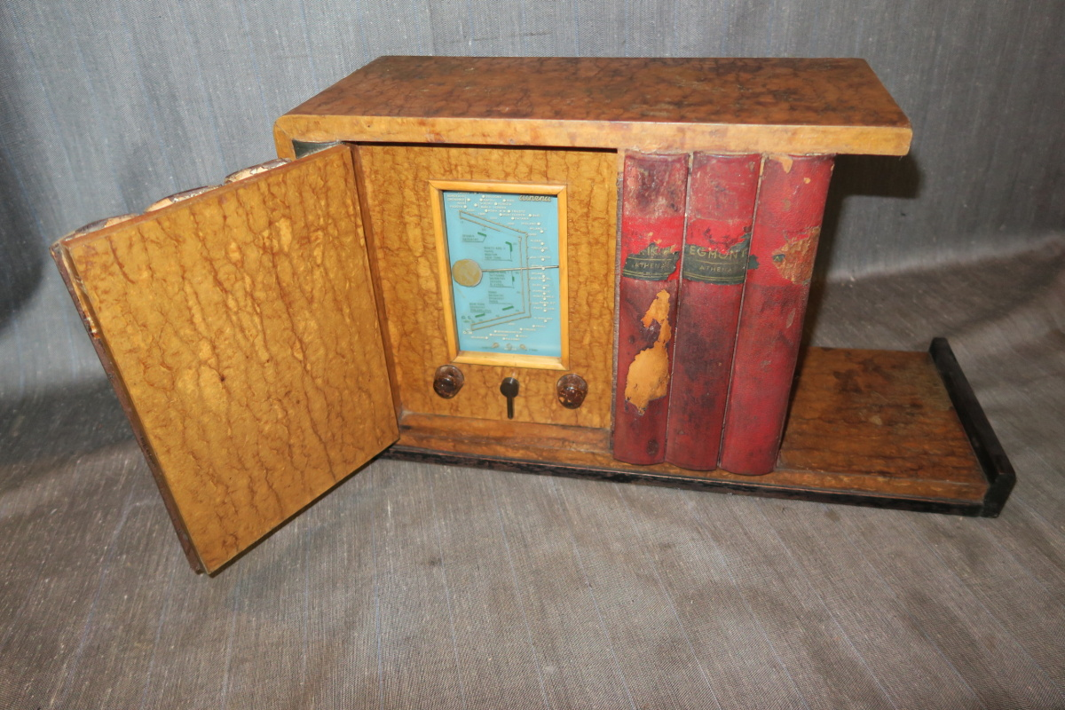 Radio Athena Libreria modello 1256