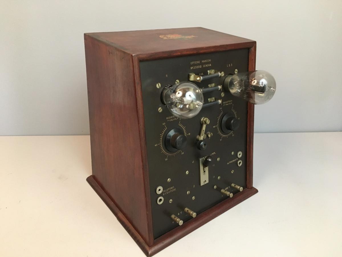 Radio Marconi Amplificatore Extra NB 2 ( 2 valvole esterne) 1923