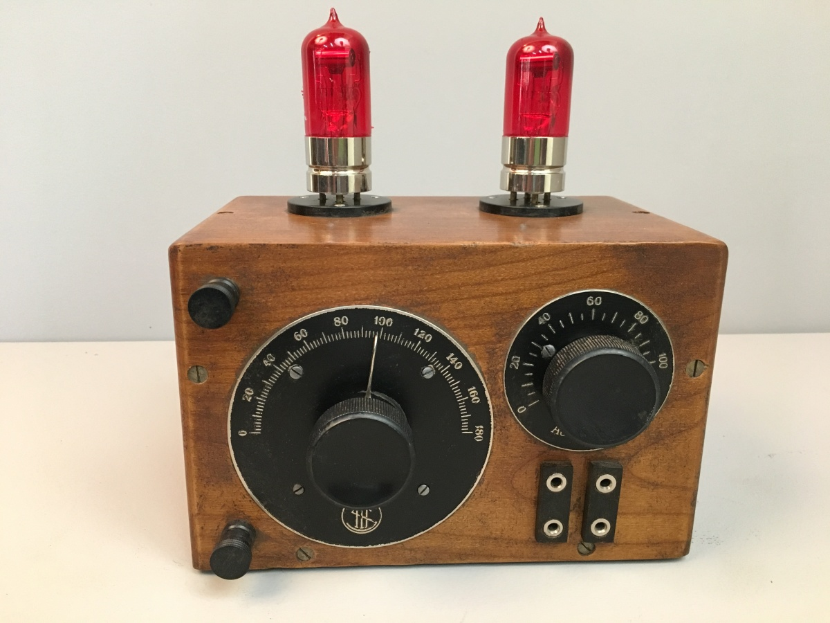 Radio anni 20 2 Valvole SITI R0 (zero).  (Societa' Industrie Telefoniche Italiane)