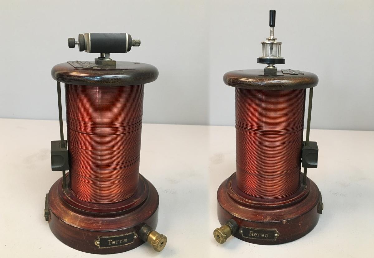 Radio anni 20 SITI a cristallo di galena R G (Società Industrie Telefoniche Italaine)