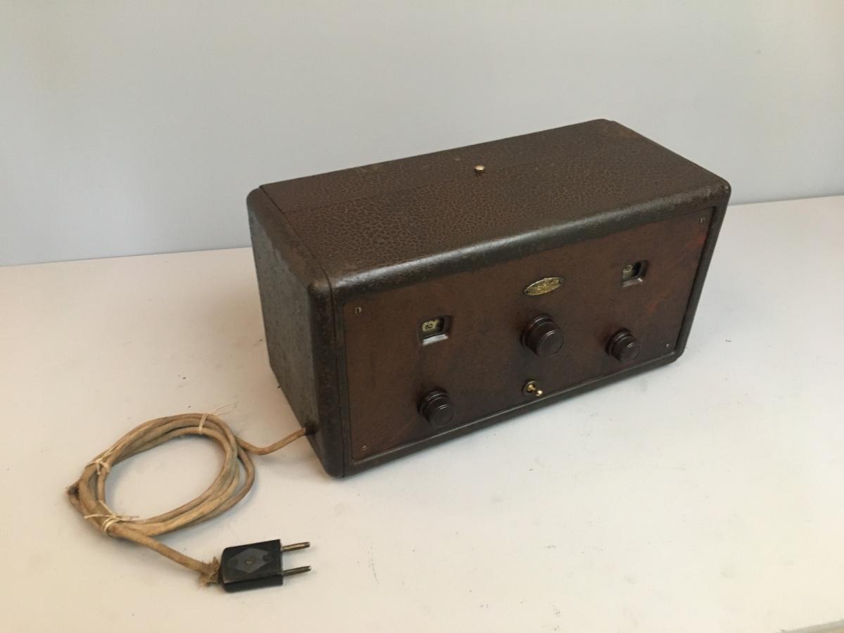Radio Magnadyne SW4 rara cassetta del 1929