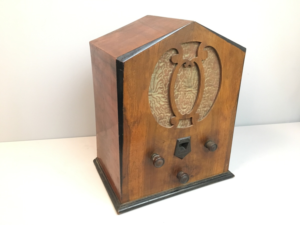 Radio Safar modello Colibrì 1933. Cupoletta rarissima