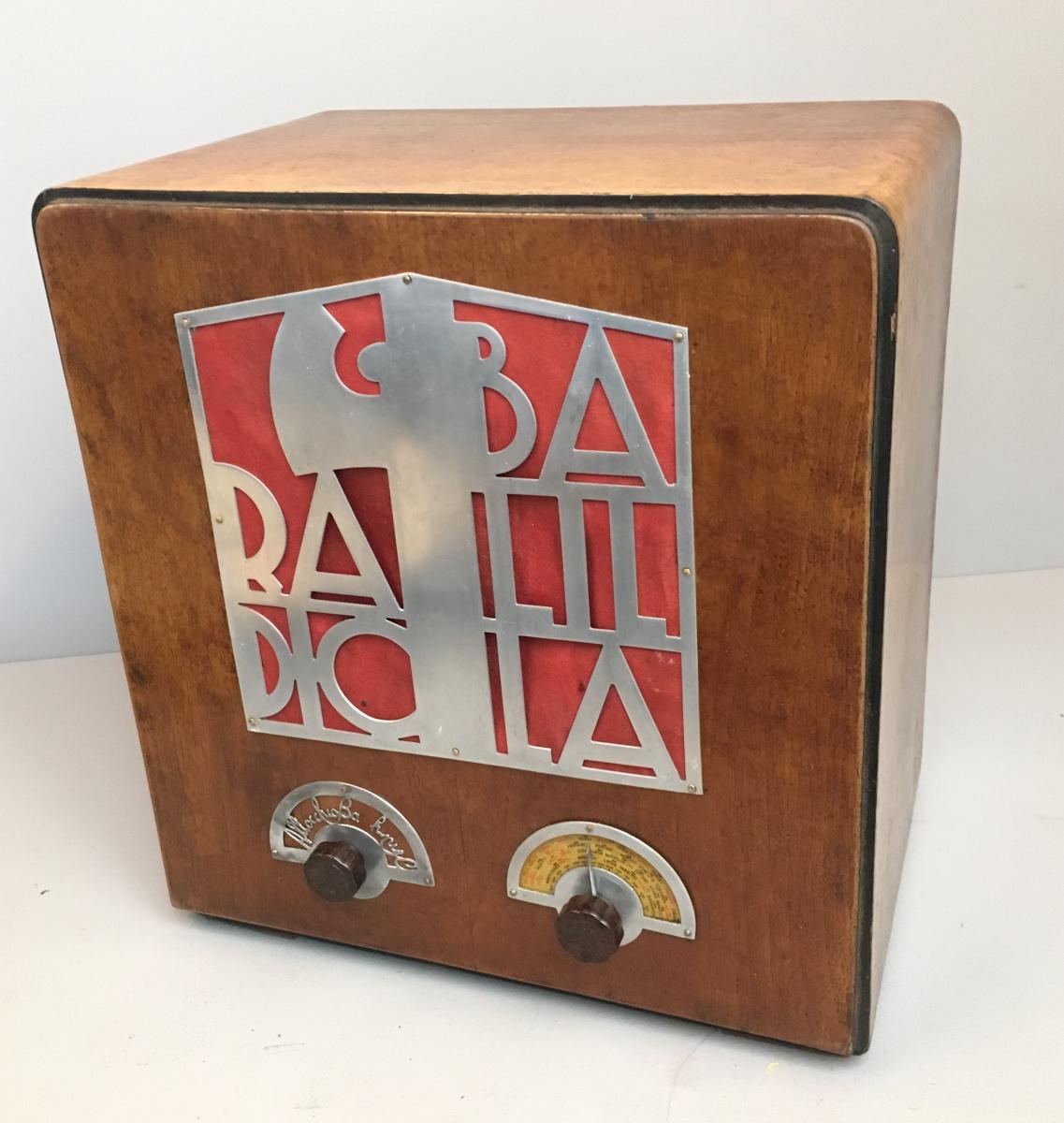 Radio Balilla Allocchio Bacchini ( vuoi comprare una radio balilla? )