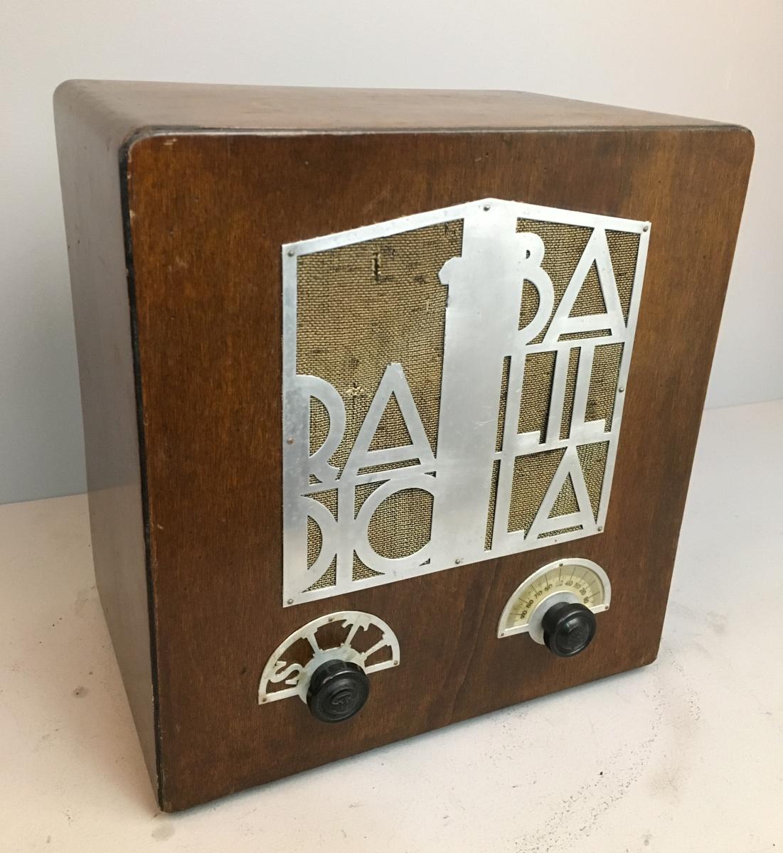 S.I.T.I. radio balilla.