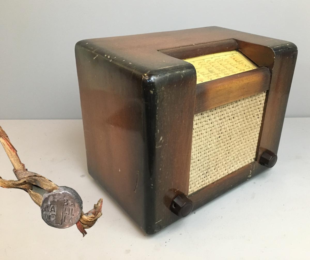Radio Roma Watt telaio 0073.