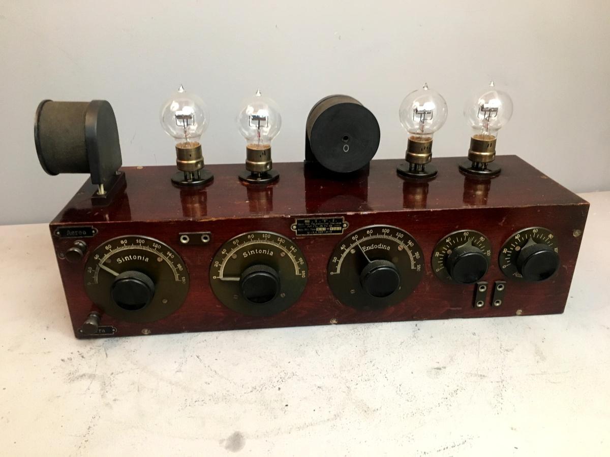 Radio anni 20 4 valvole SITI R4 n° 1289 mobile n° 21