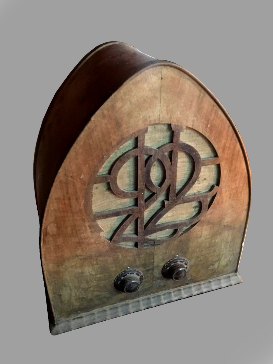 "Ansaldo Lorenz radio AL22 ""variante equipaggio speaker esterno"""