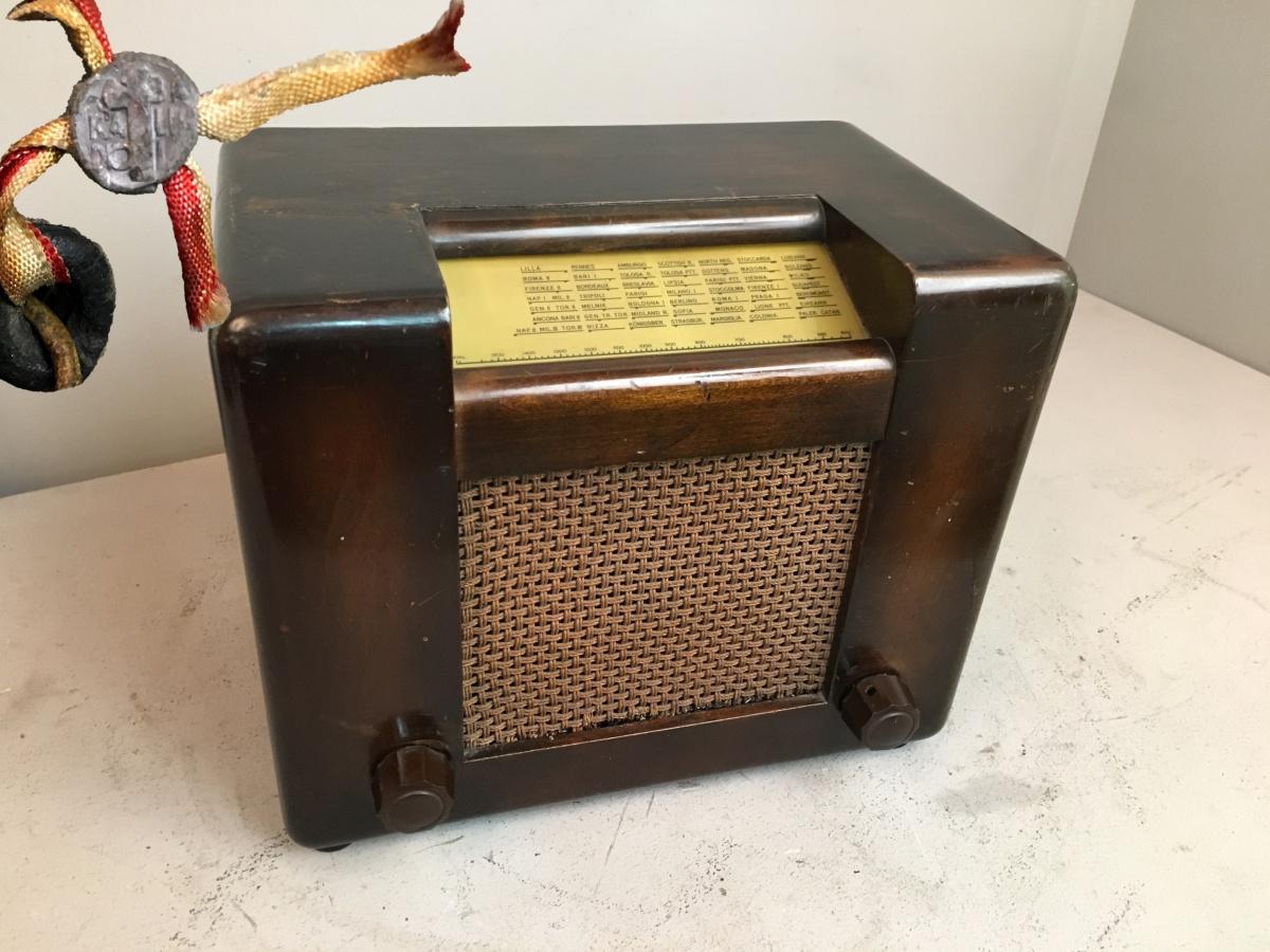 RADIO ROMA ALLOCCHIO BACCHINI 1° serie TELAIO 1868