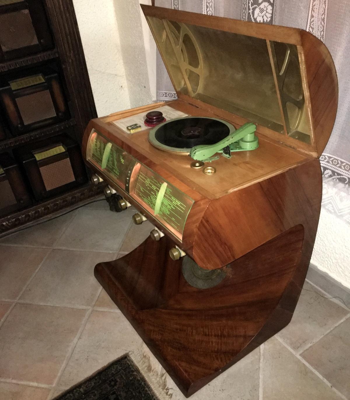 Faccetta nera, disco originale test su Ducati 4401 (Papale)