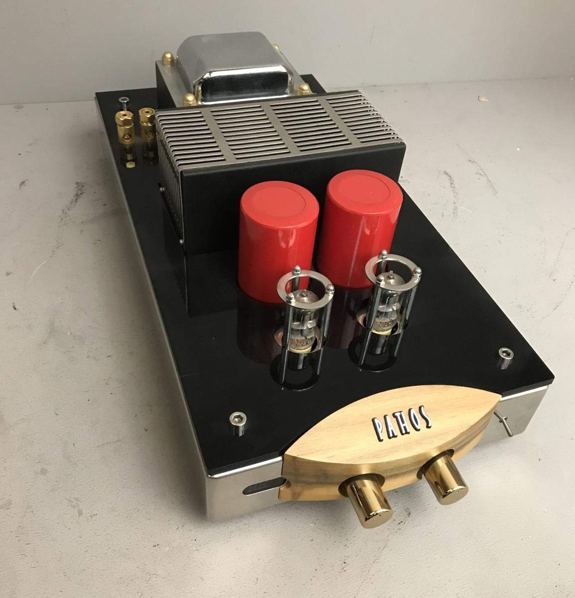 Amplificatore 2 valvole Pathos Classis One produzione italiana di eccellenza