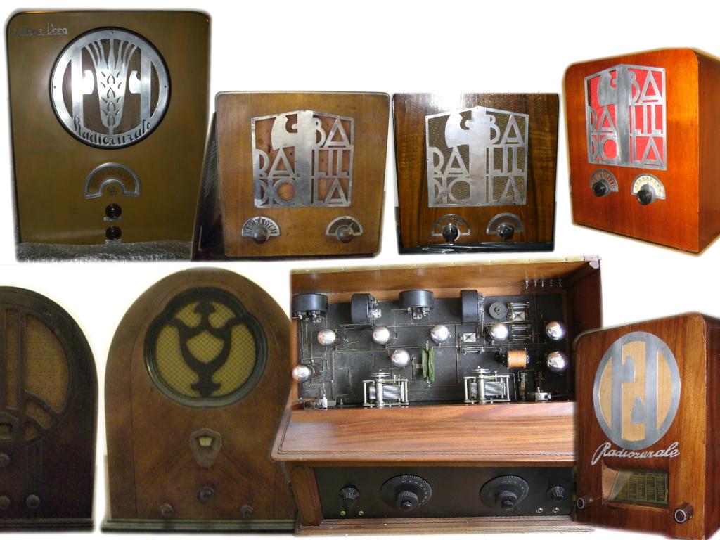Blocco radio collezione Romana e un aneddoto