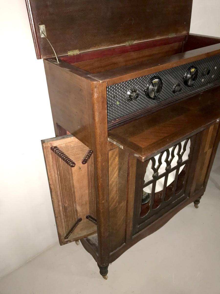Radio Ravalico Ramazzotti a consolle, con telaio e speaker interni!