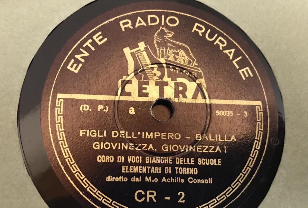 "z Ente Radio Rurale ""CANTIAMO INSIEME"" Album 78 giri per scuole elementari 1934"