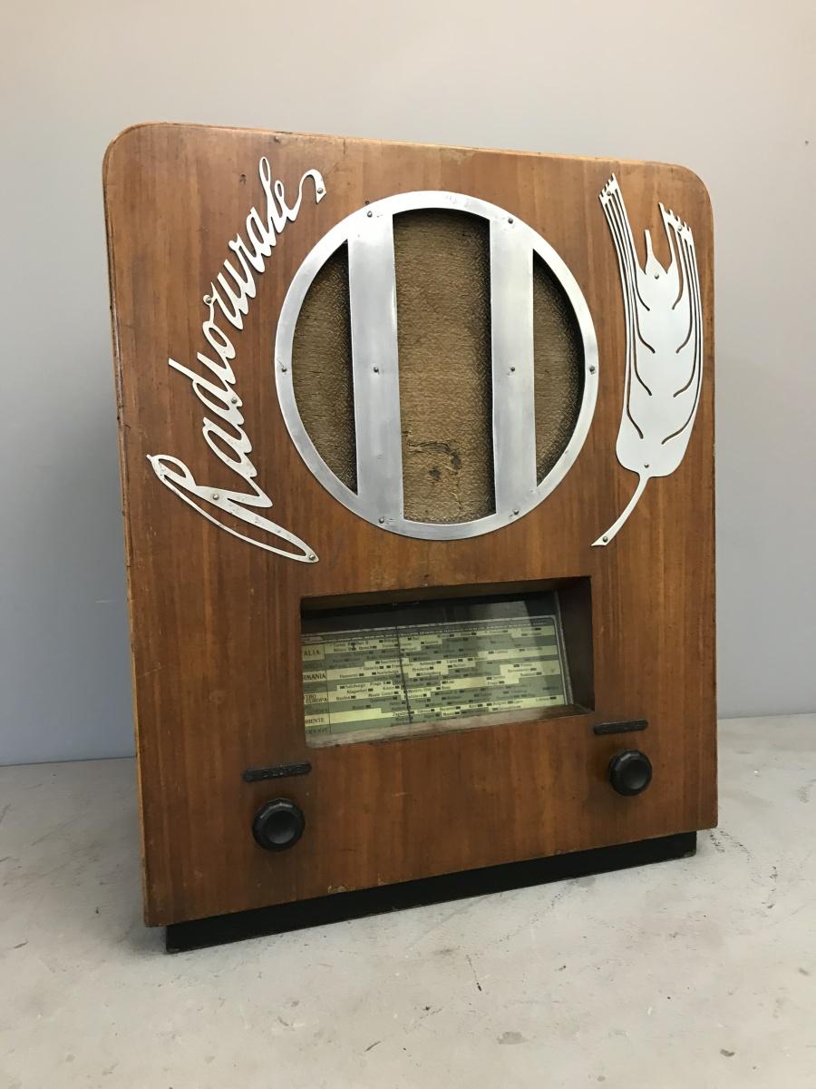 Marelli Radio Rurale 3° SERIE tipo 51 telaio N° 16600 mobile N° 222