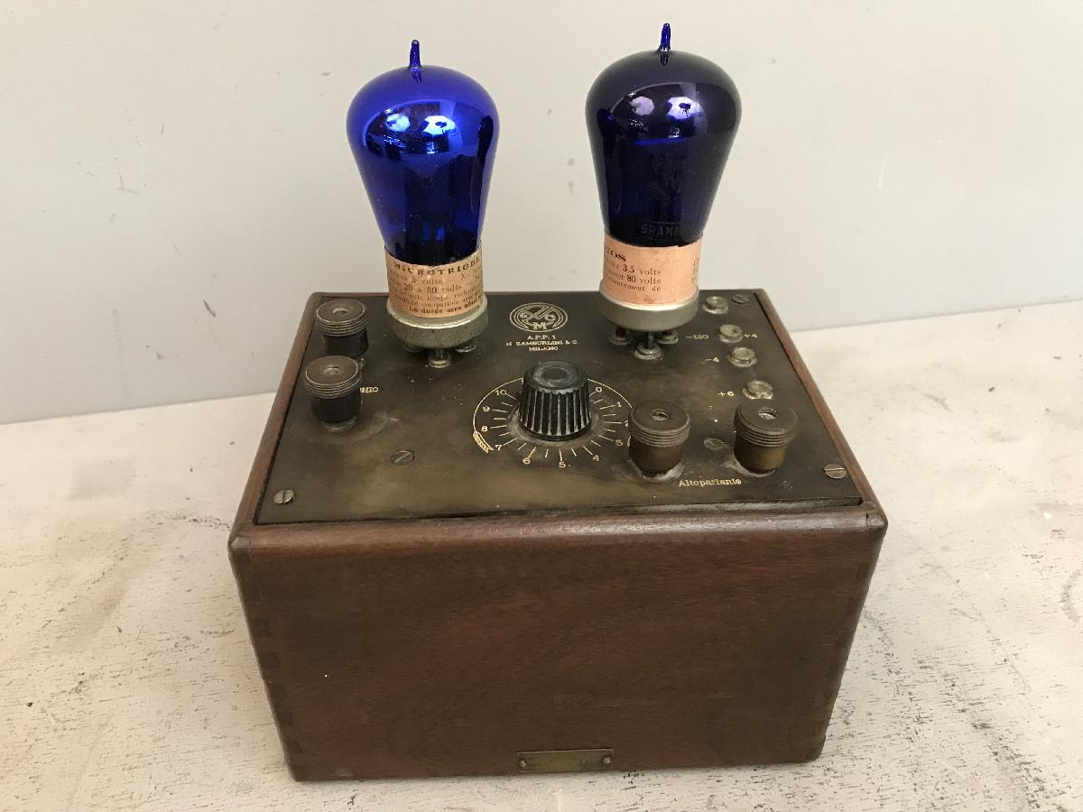 Amplificatore di potenza  Zamburlini APP 1. Push-pull. Numero 73