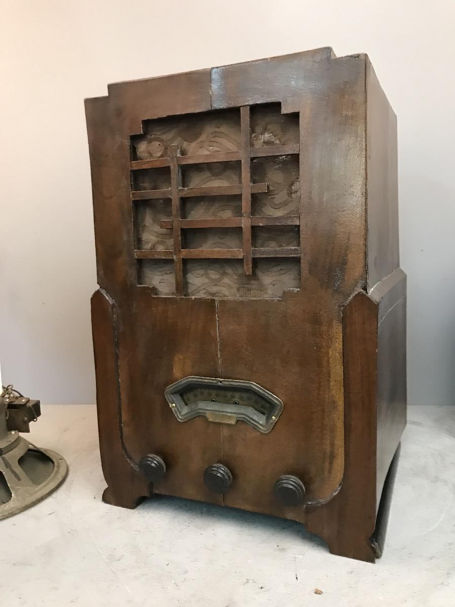 RCM Radio Costruzioni Milano. Modello S 60. Raro marchio milanese
