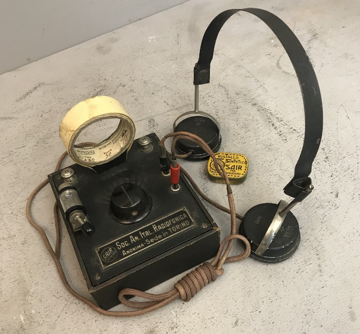 Radio Galena S.A.I.R. ( Società Anonima Italiana Radiofonica )